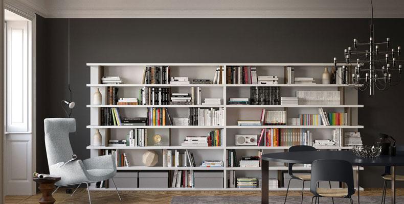 Per amanti dei libri in commercio ci sono le librerie moderne